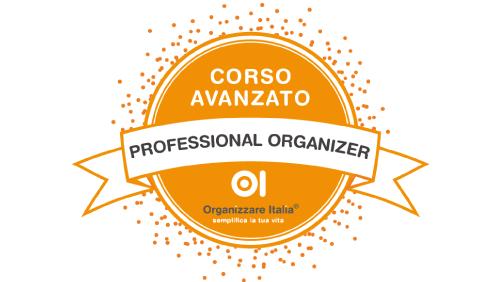 corso avanzato professional organizer
